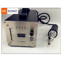Quality Lightweight Compact Ultrasonic Welding Equipment / Ultrasonic Welding Pencil for sale