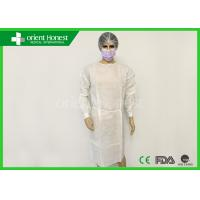 China SMS Dental Surgical Gowns Fluid Resistant Disposable Hospital Gowns on sale