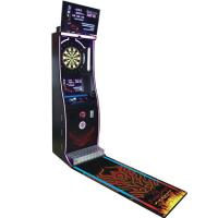 Quality Coin Operated Entertainment Online Dart Games Machine With Dart Game Board for sale