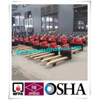 China Hydraulic Trolley And Cargo Stacker , Industry Fire Resistant File Cabinet For Oil Drum on sale