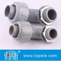 China PVC Plastic Flexible Conduit And Fittings Nonmetallic Seal Tight Connectors on sale