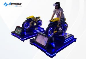 Quality Dynamic Platform 9D VR Motorcycle Simulator With Deepoon Glasses for sale