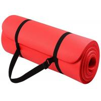 China Premium Nbr Yoga Mat Yoga Exercise Equipment Yoga Mat Nbr With Strap on sale