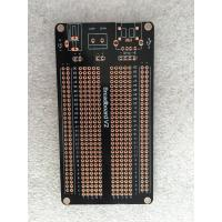 Quality 1.5mm OPS Black Universal Prototype PCB Board 105 * 55mm Short Circuit Protection for sale