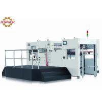 China Full Automatic Die Cutting And Creasing Machine Cardboard Cutting on sale