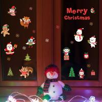 Quality Durable Christmas Wall Stickers PVC 3D Santa Claus Snowman Penguin Pattern for sale