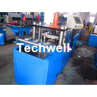 Quality Light Weight Angle Steel Roll Forming Machine With Continuous Punching System for sale