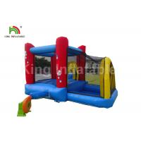 Buy cheap Commercial Grade Red Blue Inflatable Jumping Castle For Rental from wholesalers
