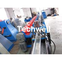 Quality GI, Carbon Steel High Productivity C Purlin Roll Forming Machine With Manual Or Hydraulic Decoiler for sale