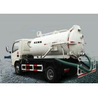 Quality Low Consumption Special Purpose Vehicles , 6.5L Septic Pump Truck XZJ5120GXW for sale