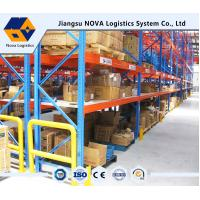 Quality Customized Pallet Rack Storage Systems With Steel Q235 ISO9001 SGS CE for sale