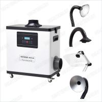 Buy cheap M6001DW Digital Nail Salon Fume Extractor / White Color Medical Portable Smoke from wholesalers