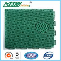 China Floated Waterproof Badminton Interlocking Rubber Flooring For Tennis Court on sale