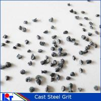 Quality Blast material Abrasive steel GRIT for steel surface G25 for sale