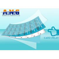 Quality Low Frequency Rfid Card Inlay , Rfid Dry Inlay With 512  Bit Memory for sale