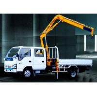 Quality Durable Mobile Folding Truck Articulated Boom Crane , 3200kg Truck Mounted Crane for sale