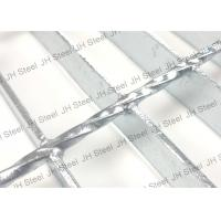 Quality Close End Welded Steel Bar Grating , Steel Floor Grating ISO9001 Approved for sale