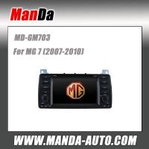 Quality Manda car dvd player for MG 7 (2007-2010) Car Stereos Factory-look Upgrade gps oem car hifi sat nav car accessories for sale