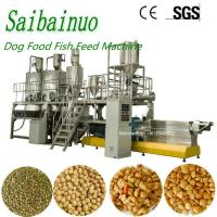 China Floating Sinking Fish Food Feed Pellet Pet Food Making Machinery on sale