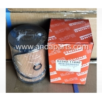 Quality Good Quality Fuel Filter For HINO S2340-11682 for sale