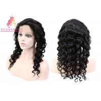 Quality 100% Transparents Full Lace Human Wigs Loose Wave Hair Cuticle Aligned for sale