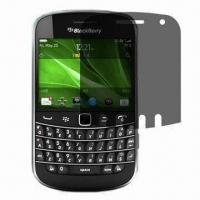 Quality Screen Filter/Protector for BlackBerry B8520, with High-transparency and Anti-glare Features for sale