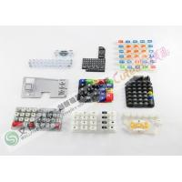 Buy cheap Non - Toxic Embossed Custom Silicone Rubber Keypad With FDA And LFGB Standard Factory from Wholesalers