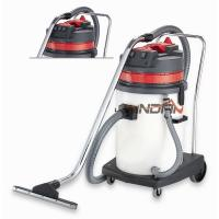 Quality Semitransparent Plastic Tank Wash Vacuum Cleaner , Dry & Wet Vacuum Cleaner with 2000W Motor for sale