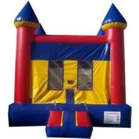 Quality Childrens birthday party inflatables bounce houses Combo Jumpers with Slide Rentals  for sale