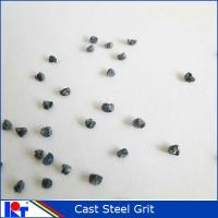 Quality Blast material Abrasive steel GRIT for steel surface G50 for sale
