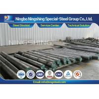 Quality High Toughness DIN 1.2767 Round Steel Bar Air / Oil Hardening Tool Steel for sale