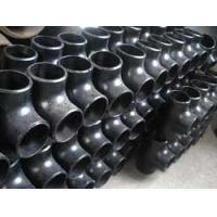 Quality ASTM A234 black carbon welded straight tees & crosses for sale