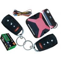 Quality 24V Remote Simple Car Alarm System , Wireless Automatic Car Lock System for sale
