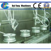 Buy Automobile Hub Paint Coating Lines High Temperature Resistance CE Approved at wholesale prices