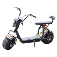 Quality 2019 Sun Shine 60V 1200W 20AH motor remote controller heavy duty electric scooter for adult motor scooter for sale