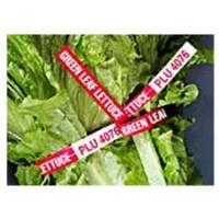 Quality waterproof printed paper twist ties for fresh vegetables for sale