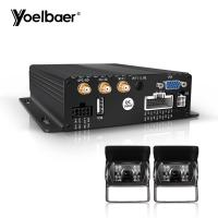 Quality 8 Channel Vehicle DVR Camera System With AHD External Interior Camera for sale
