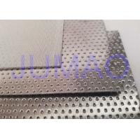 Quality Max 800C Stainless Steel Filter Mesh Sintered With Filter Rate 2 - 200 Um for sale