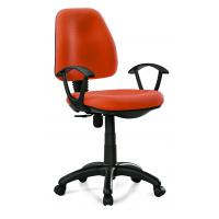 Quality Manager & Staff Fabric Computer Chair , Modern Orange Fabric Task Chair for sale