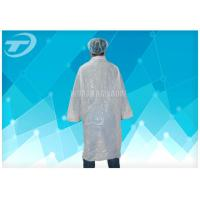 Quality Non - Woven Lab Cloth Surgical Gowns With  Fastening Soft And Breathable for sale