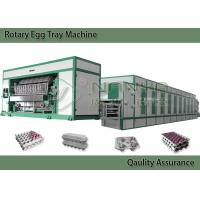 Quality Energy Saving Pulp Molding Equipment For Egg Tray , Egg Carton Multiple Layer for sale
