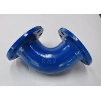 China PN16 90 Degree Cast Iron Pipe Fittings , Cast Iron Soil Pipe Fittings on sale