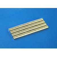 China Sintered NdFeB Ring Magnet Zinc / Gold Plated Neodymium Magnets For Printer on sale