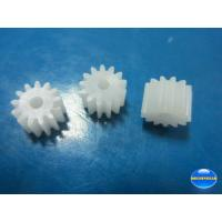 Quality Wholesale of 0.5M standard plastic motor gear with various teeth for DC motor or gearbox for sale