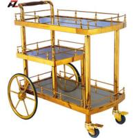 Stainless Steel Liquor Cart With Handle Of Hotelsupplies