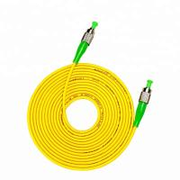 China Telecommunication Optical Fiber Patch Cord Singlemode FC/APC SM SIMPLEX LC SC FC on sale