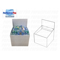 Quality Strong 30kgs Supporting Capability of Wingstack Cardboard Dump Bins for sale