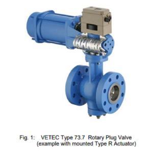 China High Efficiency Pneumatic Control Valve Rotary Plug Control Valve DIN Standard on sale