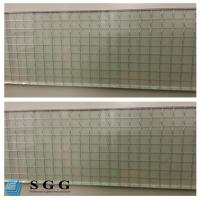 Buy Excellence quality Safety Building 6mm clear wired glass prices at wholesale prices