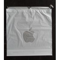Quality Custom Apple Iphone Classic Drawstring Plastic Bags with PP Rope for sale